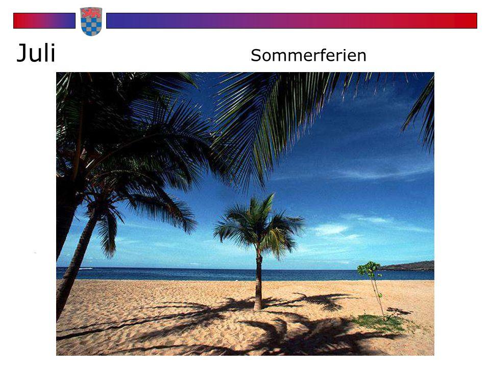 Juli Sommerferien