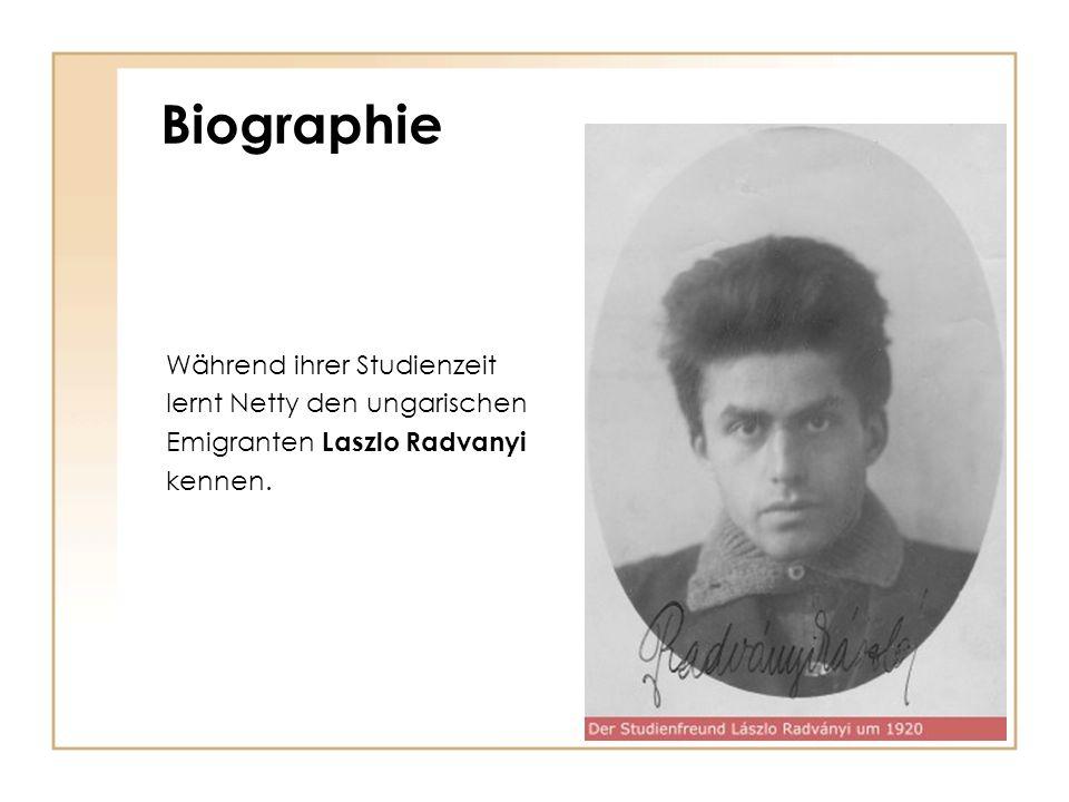 Biographie 1926 Geburt des Sohnes Peter 1928 Geburt der Tochter Ruth