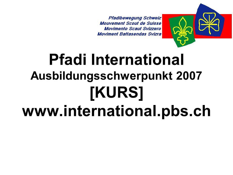 """Pfadi International2 Die Pfadiwelt Zwei Weltverbände: WOSM und WAGGGS 38 Millionen Aktive 500 Millionen Ehemalige Nur fünf Länder (noch) ohne """"offizielle Pfadi: Andorra, China, Laos, Kuba, Nordkorea"""