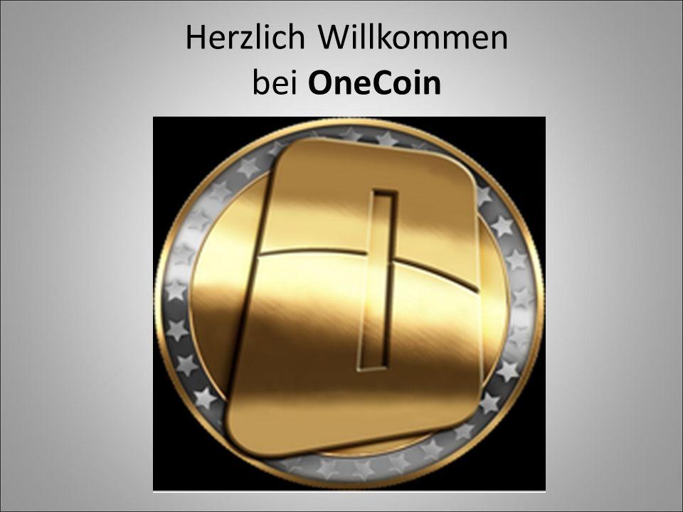 Herzlich Willkommen bei OneCoin