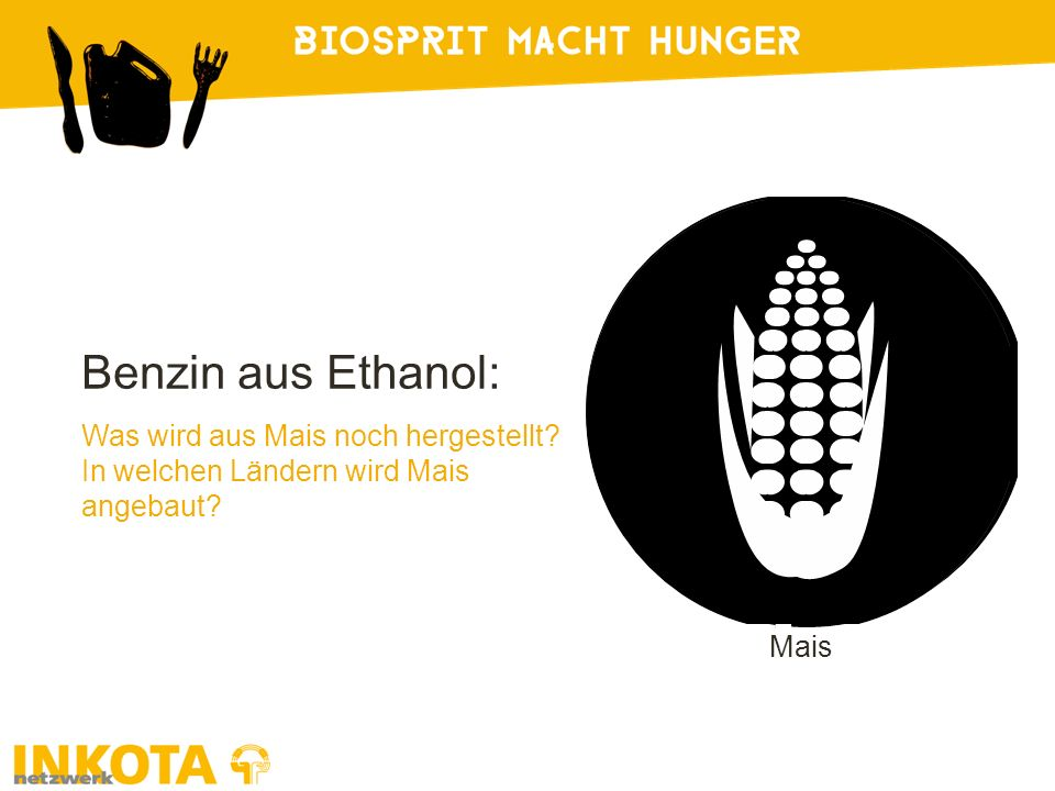 Benzin aus Ethanol: Was wird aus Mais noch hergestellt? In welchen Ländern wird Mais angebaut? Mais