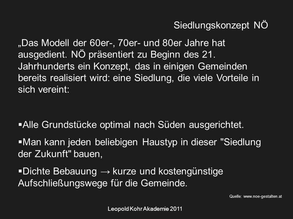 Leopold Kohr Akademie 2011 Bildquelle: Foto Autor Quadermauerwerk