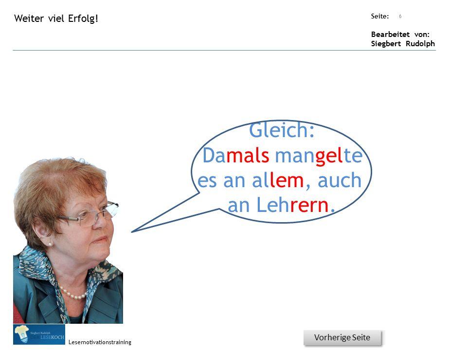 Übungsart: Seite: Bearbeitet von: Siegbert Rudolph Lesemotivationstraining 5 Welcher Artikel.