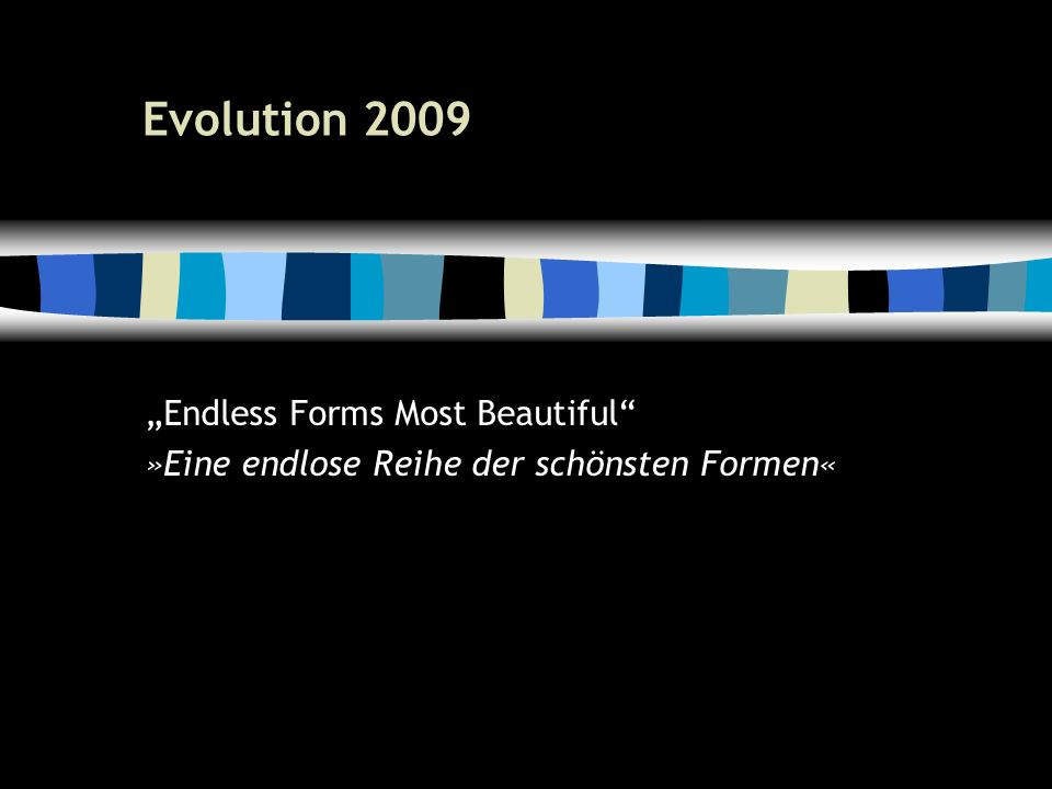 22 DNA — Das Rückgrat des Lebens Genom = Erbgut Gesamtheit aller Informationen für ein Lebewesen Mechanisch unterteilt in Chromosomen oder als einfacher Ring DNA, RNA Gerüst für chemisches Transportmedium für biologische Information »Leiterholme Basenpaare A, G, C, T (DNA) und A, G, C, U (RNA) = Einzelne Information (Doppel-bits) Bilden eigentliche Codierung »Trittsprossen Gen = viele Basenpaare (Groß-Bytes) Plan zum Herstellen von Chemikalie (codierende DNA) oder zur Steuerung (Hox-Gene)