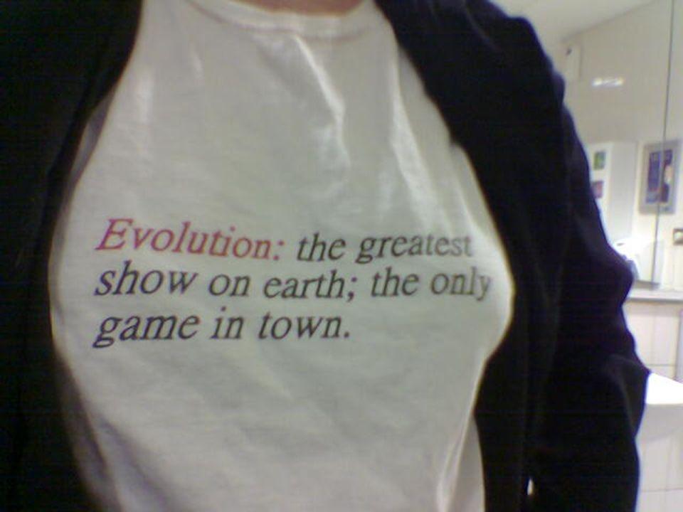 59 Religionen zum Kreationismus Brief an die Schulbehörde von Gransburg, Wisconsin 2004: Wir glauben, dass die Evolutionstheorie eine grundlegende wissenschaftliche Wahrheit ist, die eingehende, strenge Prüfungen überstanden hat und auf der viele Kenntnisse und Errungenschaften der Menschen basieren.