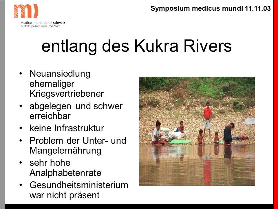 Symposium medicus mundi 11.11.03 Bildung von multidisziplinären Teams Gesundheit und Krankheit sind multikausal bedingt.