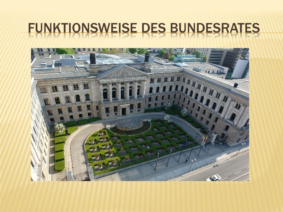  Bearbeitung des Gesetzes in Ausschüssen  Treffen der unterschiedlichen Lager (SPD/CDU)  Abstimmung im BR (mind.