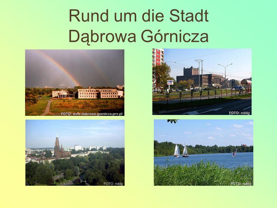 Rund um die Stadt Dąbrowa Górnicza