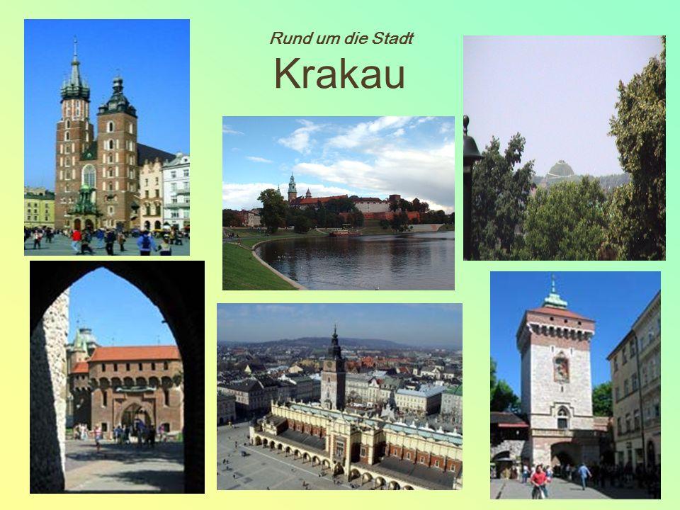 Rund um die Stadt Krakau