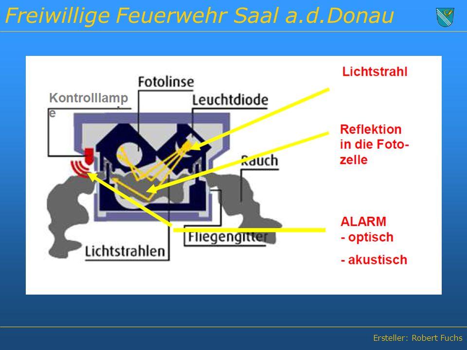 Freiwillige Feuerwehr Saal a.d.Donau Ersteller: Robert Fuchs