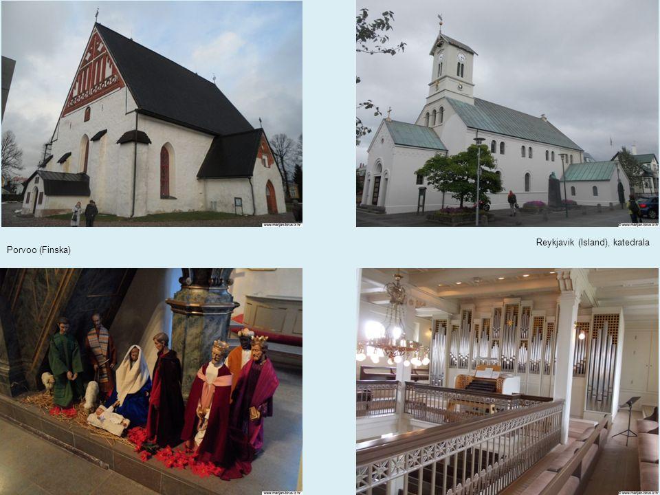 Porvoo (Finska) Reykjavik (Island), katedrala
