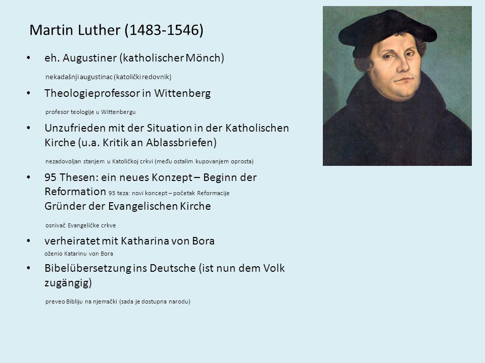 Vom Himmel hoch, da komm ich her – eine der bekanntesten Liedschöpfungen Luthers im Druck von 1567 Odozgo s neba, stigao sam – jedna od najpoznatijih pjesama M.