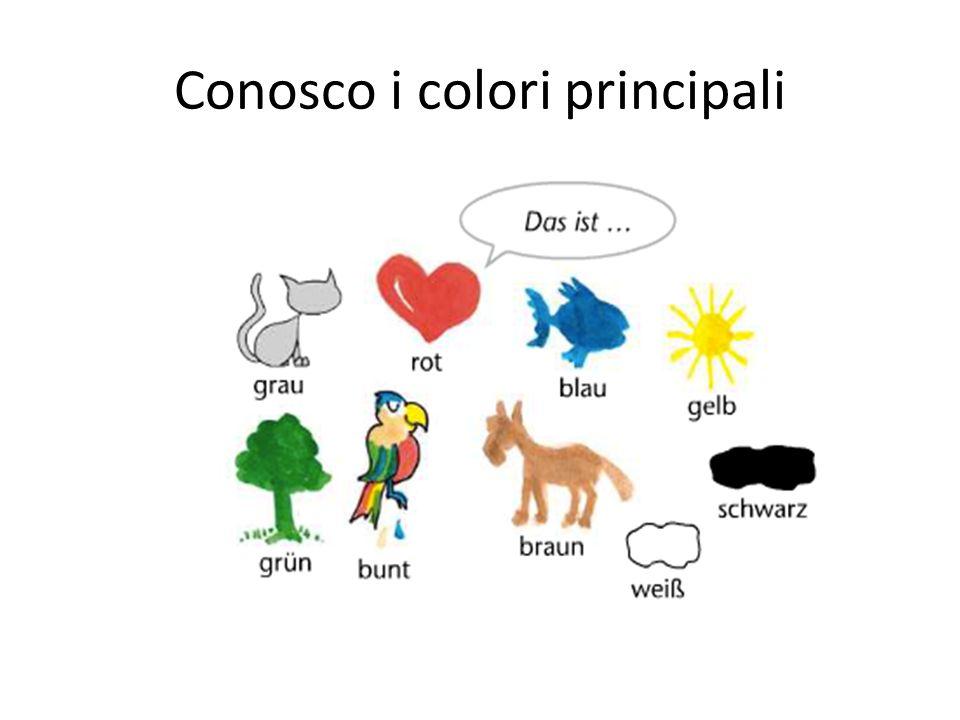 Conosco i colori principali