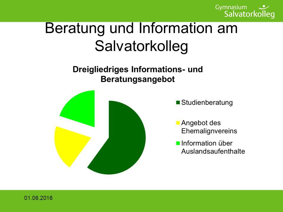 Beratung und Information am Salvatorkolleg 01.06.2016