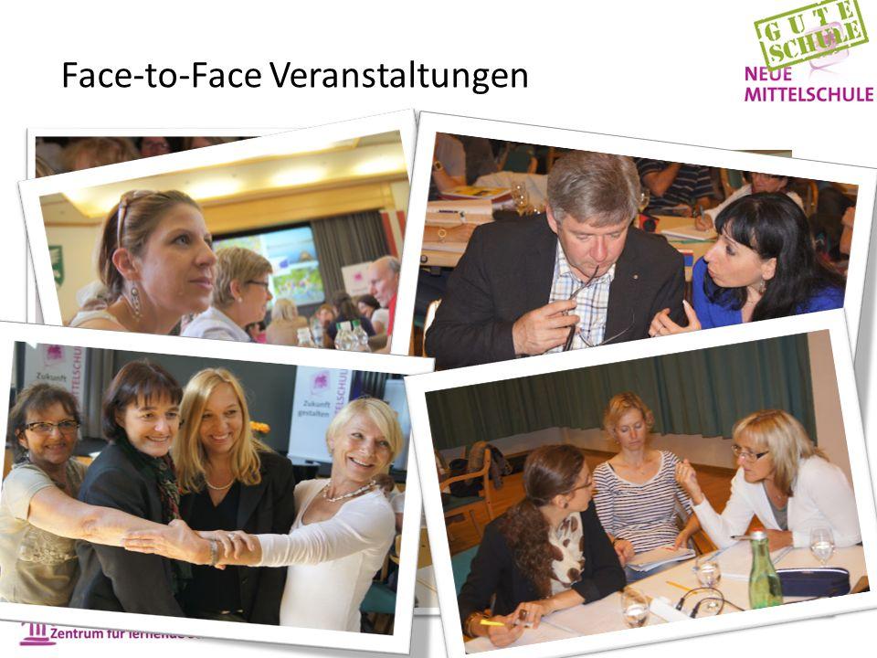 Face-to-Face Veranstaltungen
