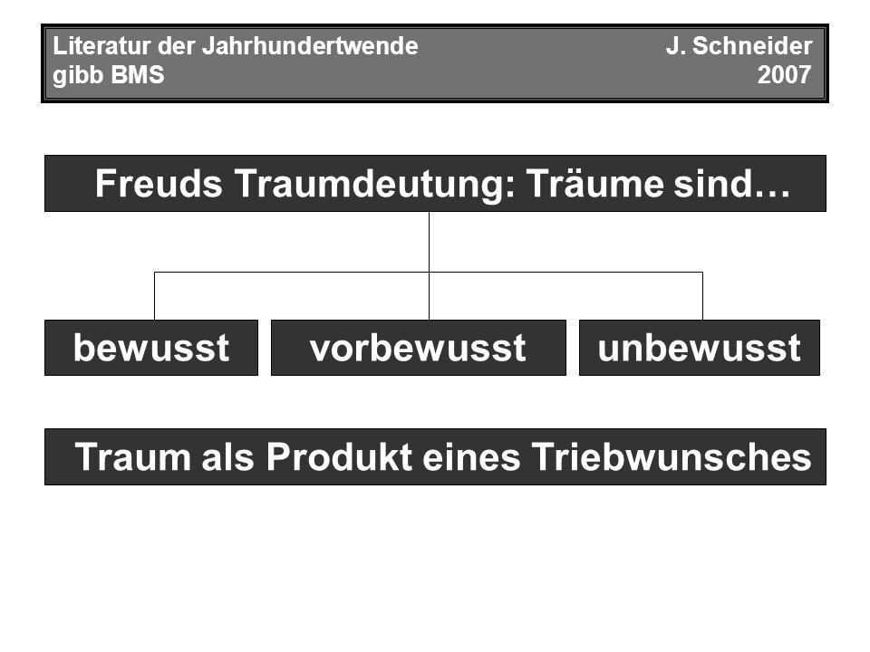 Drei Abhandlungen zur Sexualtheorie (1905) Literatur der JahrhundertwendeJ.