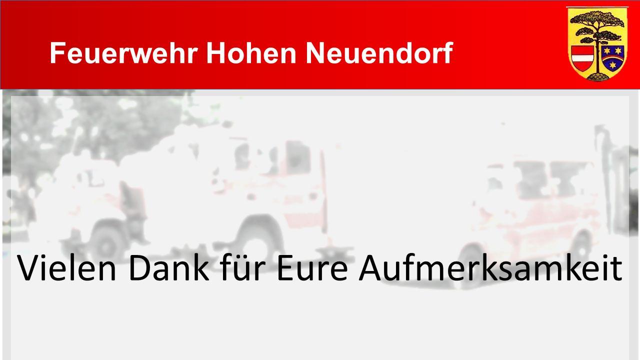 Feuerwehr Hohen Neuendorf Vielen Dank für Eure Aufmerksamkeit