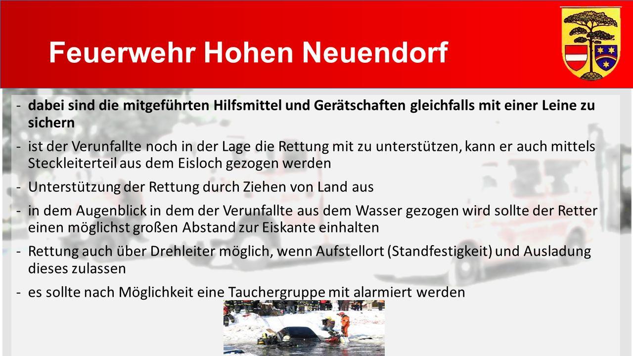 Feuerwehr Hohen Neuendorf Allgemeine Hinweise -bei Dunkelheit ges.