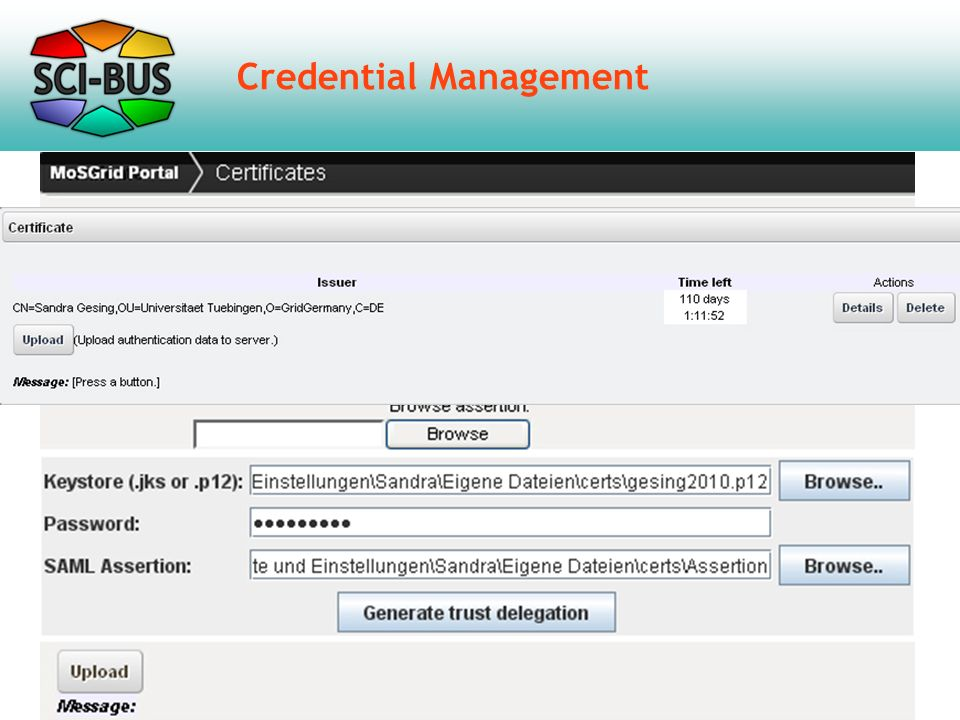 Credential Management