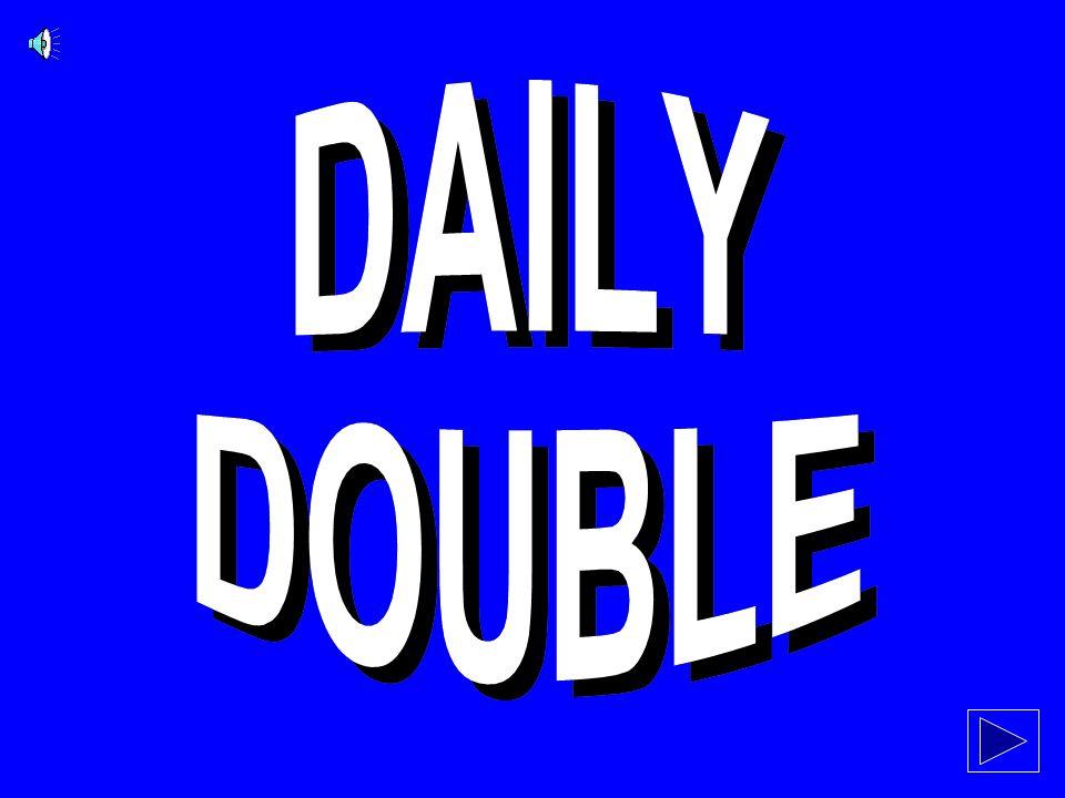 SPIELENDE Daily Doubles und Anweisungen folgen...