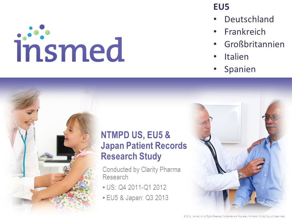 Ziele  Verlässliche Schätzungen  Zahl an Patienten mit NTMPD, die durch Hausärzte (Internisten /Allgemeinmediziner), Pneumologen, Infektiologen oder andere Spezialisten gesehen werden  Gesamtzahl der jeweiligen Ärzte, die NTMPD-Patienten im letzten Jahr sahen oder behandelten  Inzidenz und Prävalenz der Patienten mit NTMPD sowie mit MAC-PD und M.
