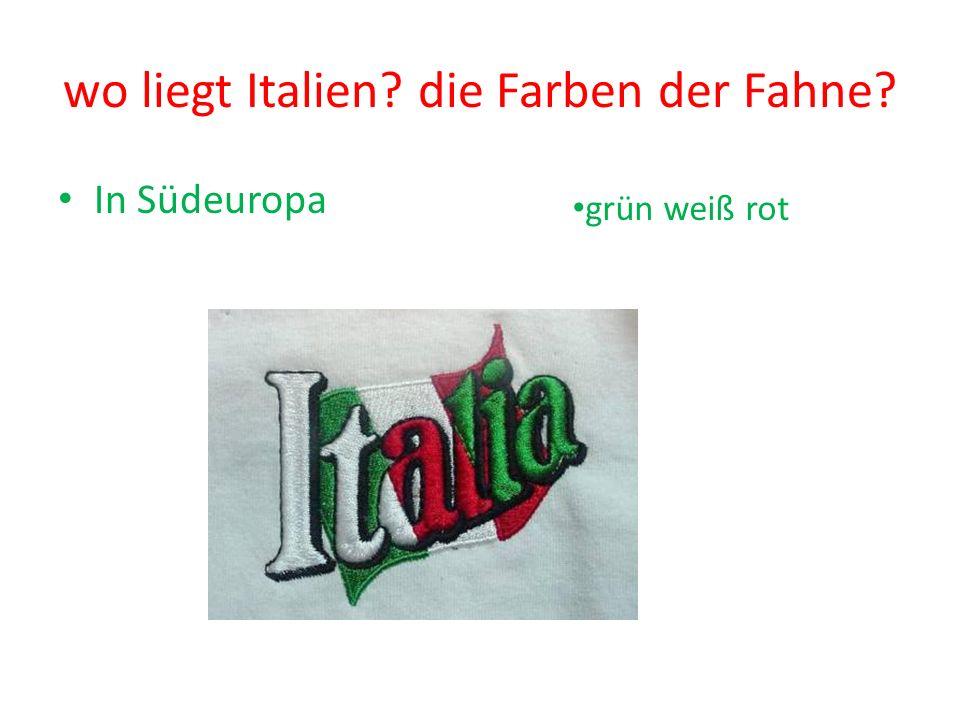 LIEBE GRÜSSE aus ITALIEN