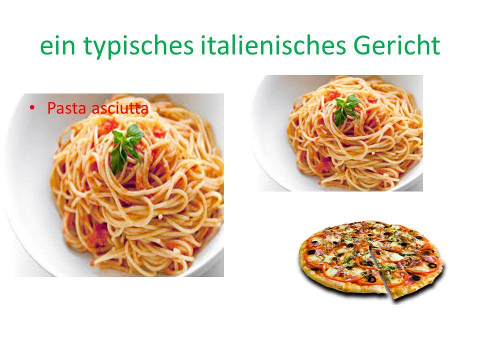 die Hauptbestandteile der italienischen-Diät Gemüse Obst Fisch ?...