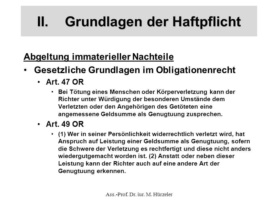 Ass.-Prof.Dr. iur. M.