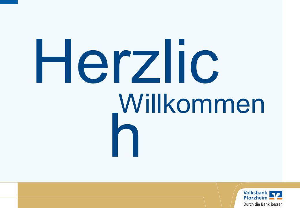Willkommen Herzlic h