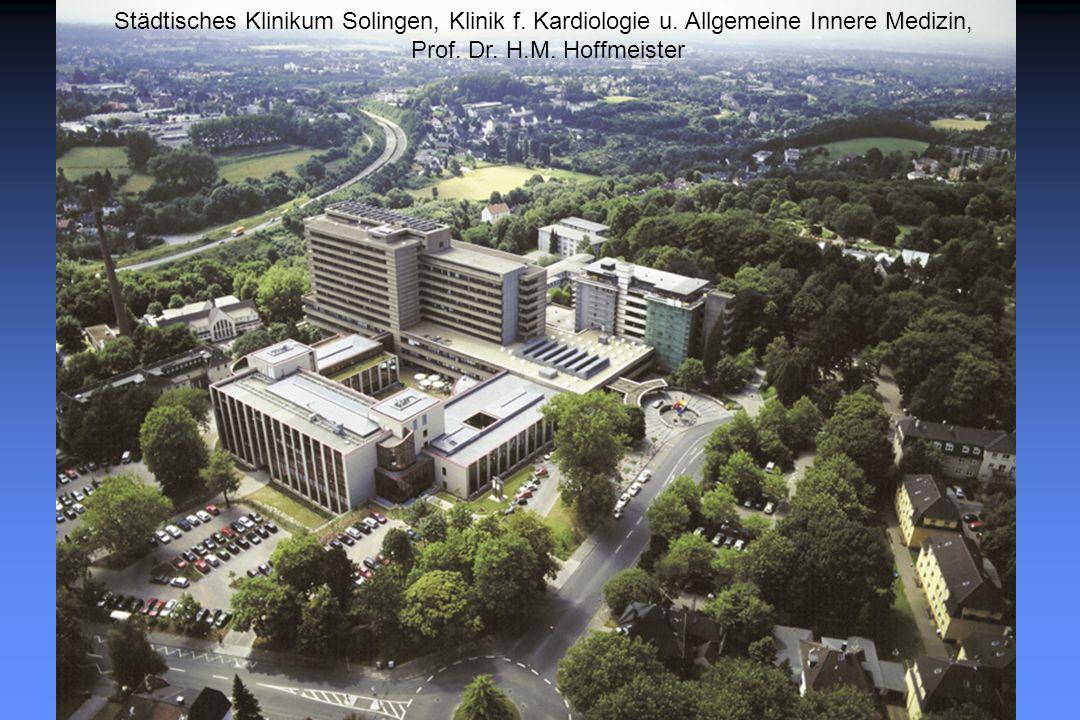 Städtisches Klinikum Solingen, Klinik f. Kardiologie u.