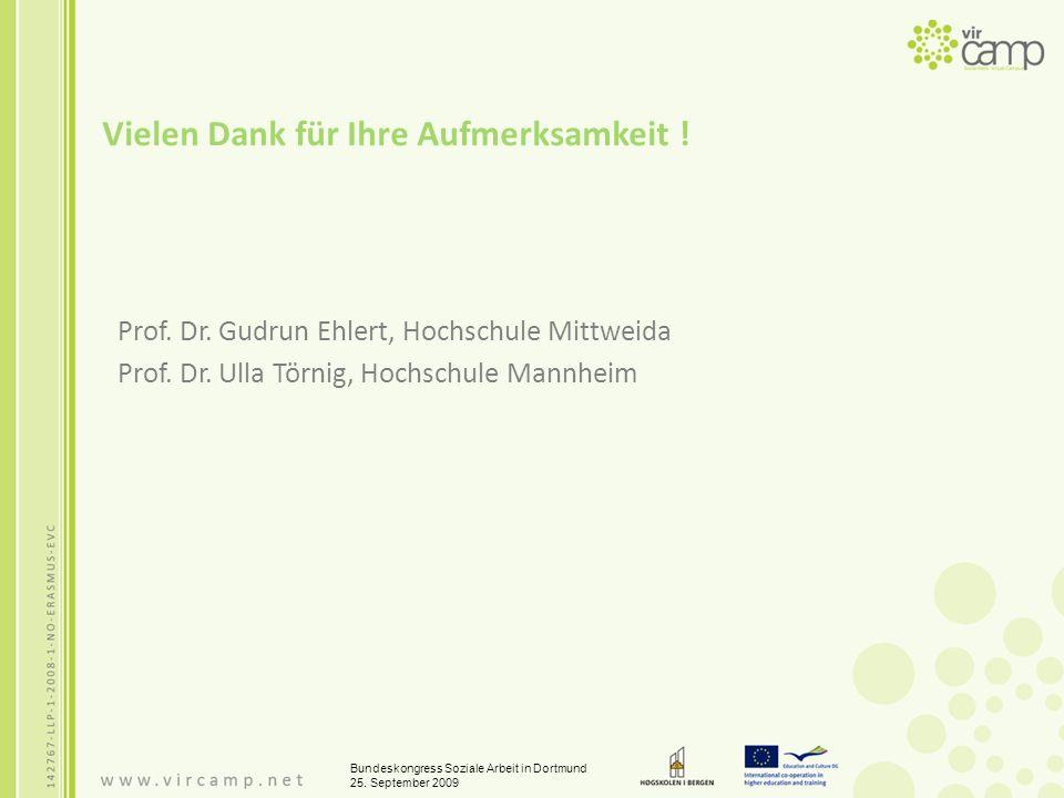Vielen Dank für Ihre Aufmerksamkeit . Prof. Dr. Gudrun Ehlert, Hochschule Mittweida Prof.
