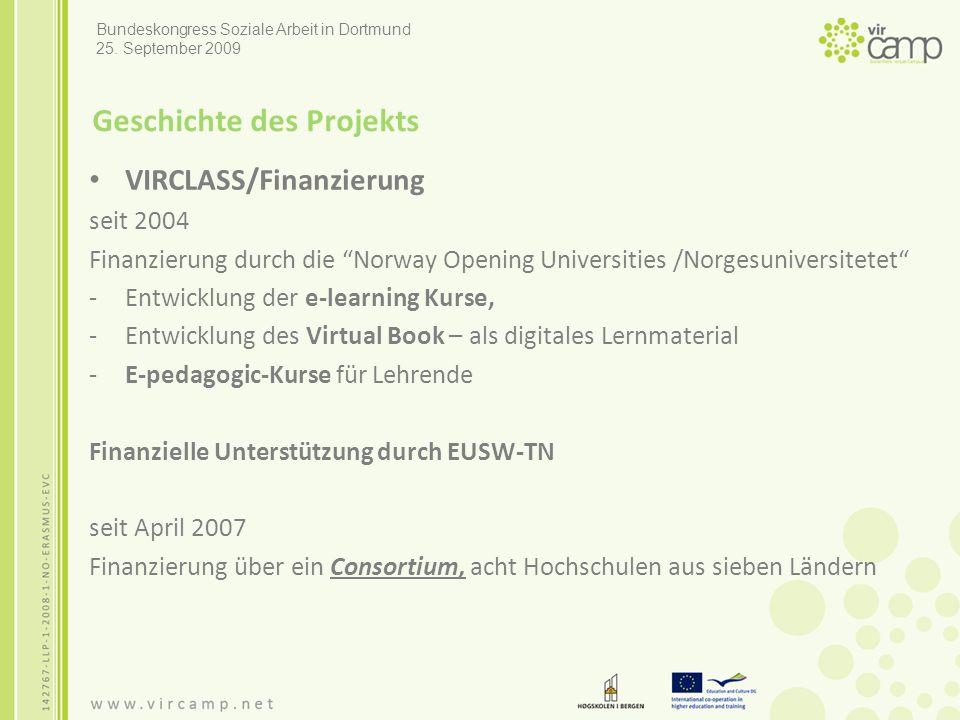 Quellen - Netzadressen Larsen, Anne Karin/ Hole, Grete Oline/ Fahlvik, Morten (2007): Developing a Virtual Book – Material for Virtual Learning Environments.