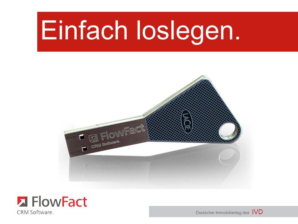 Wie starten? Deutscher Immobilientag des IVD - Kontakte - Objekte - Termine - ToDo´s