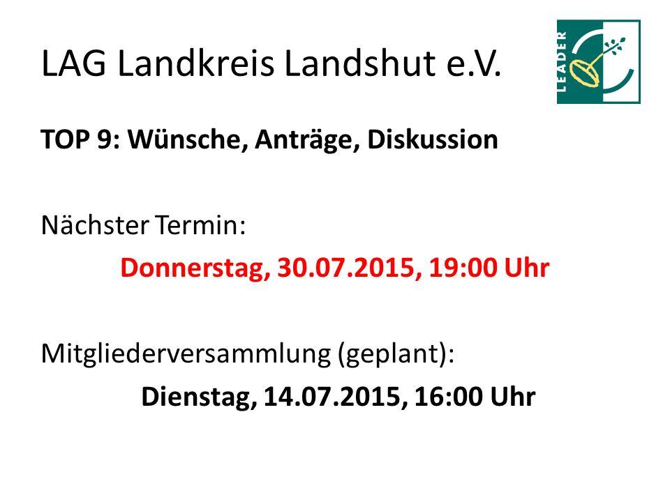 LAG Landkreis Landshut e.V.