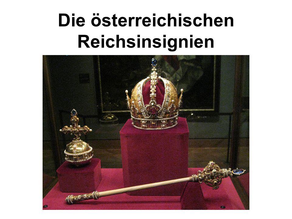 Die österreichischen Reichsinsignien