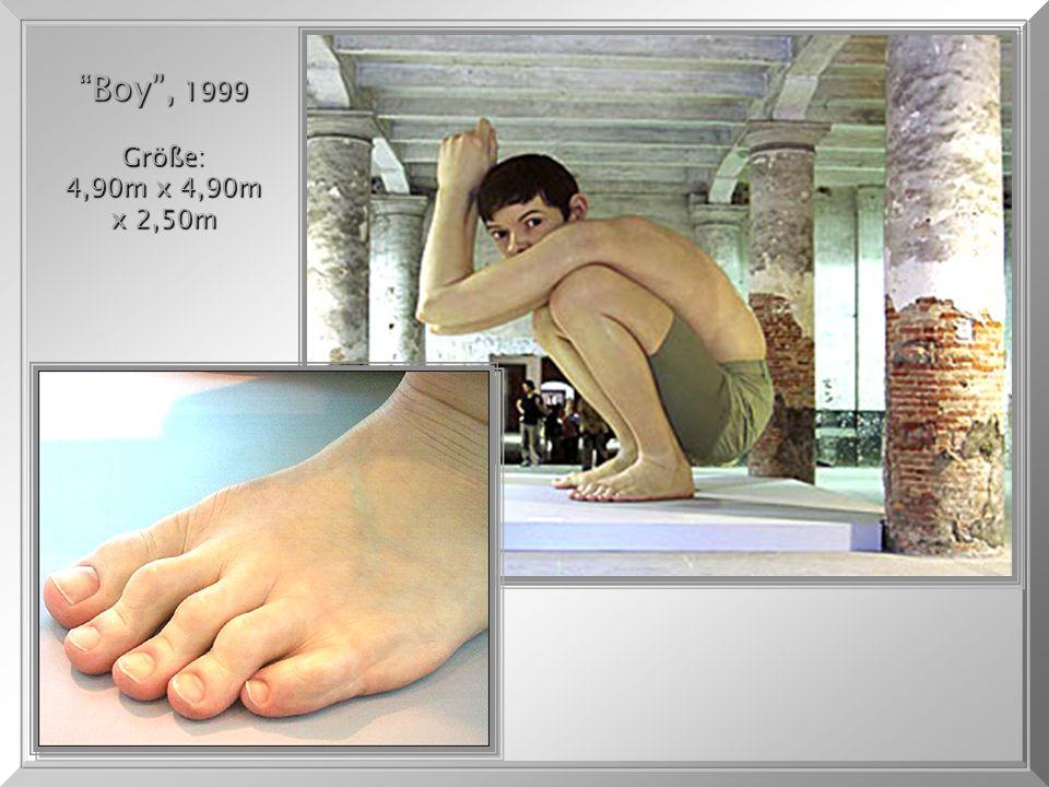 """Big Baby"", 1997 - con 0,87cm de altura. ""Big Baby"", 1997 - con 0,87cm de altura."