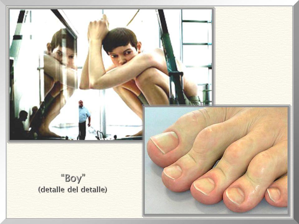 Boy , 1999 Größe: 4,90m x 4,90m x 2,50m