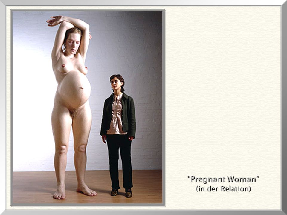 Pregnant Woman (in der Relation)