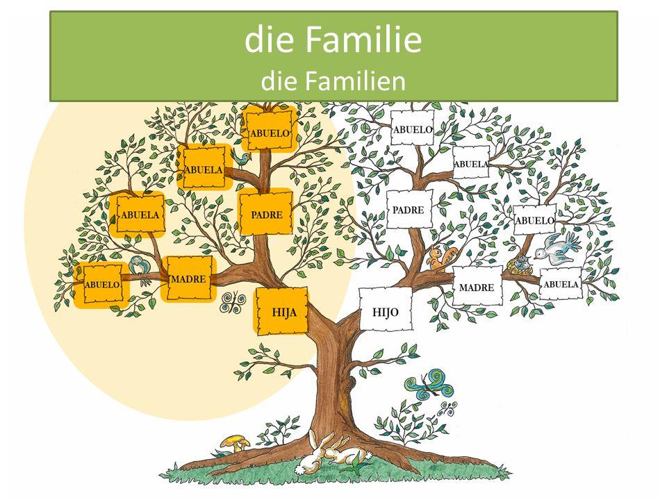 die Familie die Familien