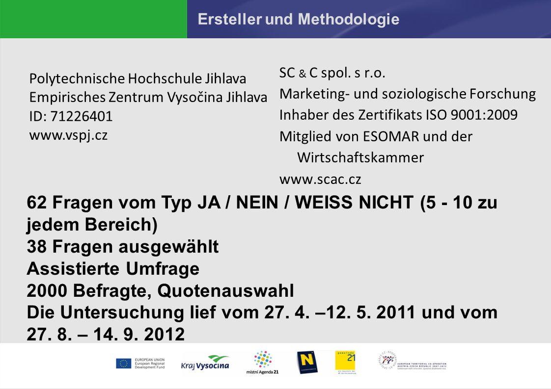 Ersteller und Methodologie SC & C spol.s r.o.