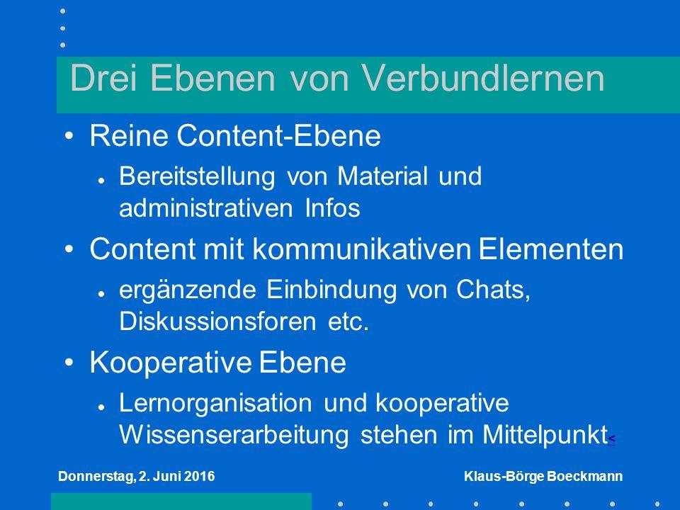 Donnerstag, 2.Juni 2016Klaus-Börge Boeckmann Vielen Dank für Ihre Aufmerksamkeit.