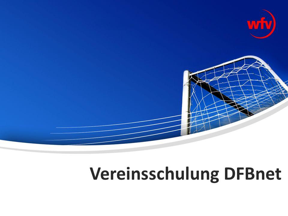 Vereinsschulung DFBnet