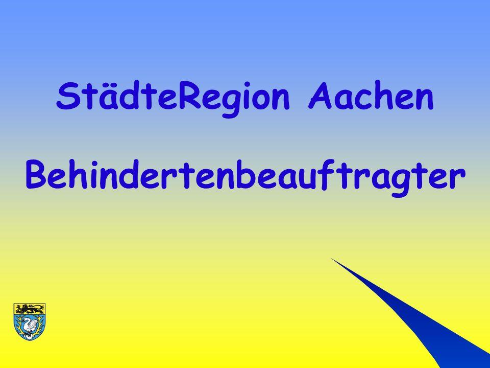 StädteRegion Aachen Behindertenbeauftragter