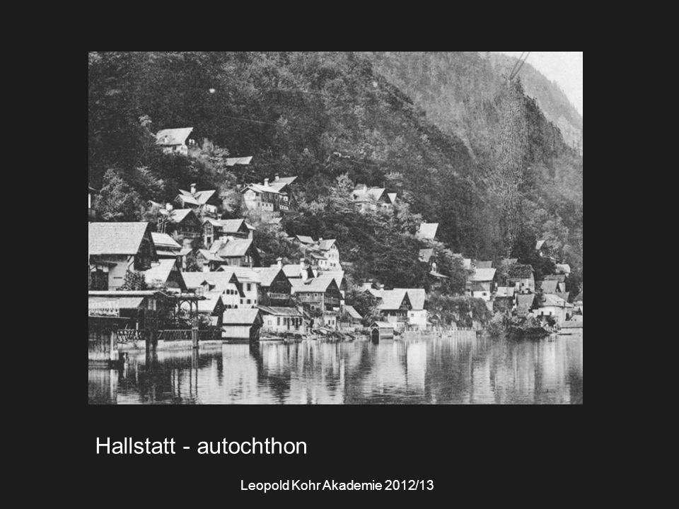 Hallstatt - autochthon