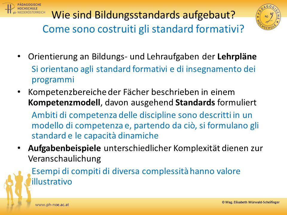 www.ph-noe.ac.at Wie sind Bildungsstandards aufgebaut.