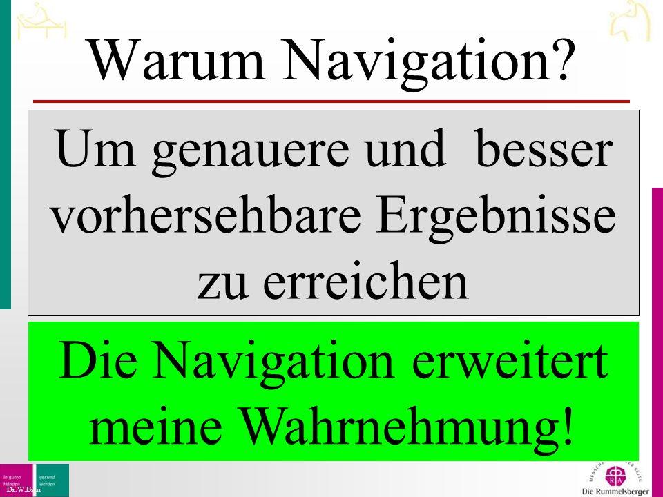 Warum Navigation.