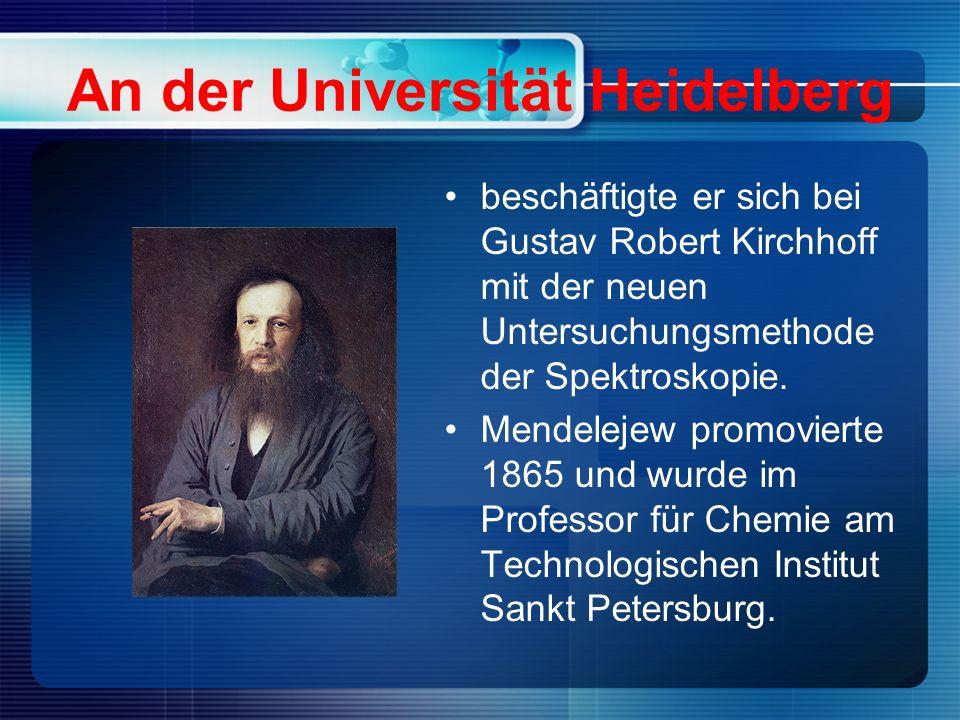 An der Universität Heidelberg beschäftigte er sich bei Gustav Robert Kirchhoff mit der neuen Untersuchungsmethode der Spektroskopie.