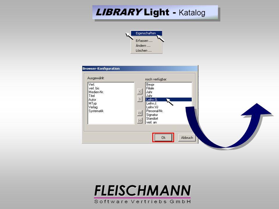 Medium eingetragen LIBRARY Light - Ausleihe