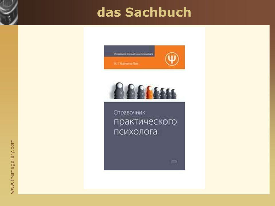 www.themegallery.com das Sachbuch