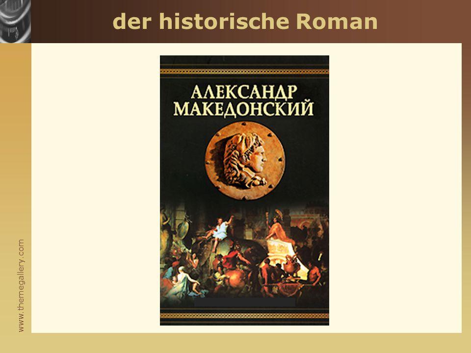 www.themegallery.com der historische Roman